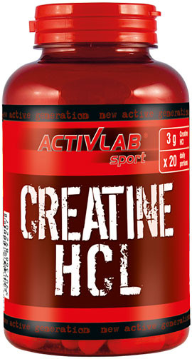 Activlab Creatine HCL 120 caps