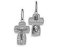 Крест серебряный православный 501 48