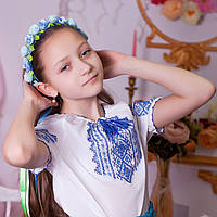 Вышиванка подростковая для девочки (ручная робота, 11-12лет), фото 1