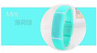Спортивные LED часы бирюзовый