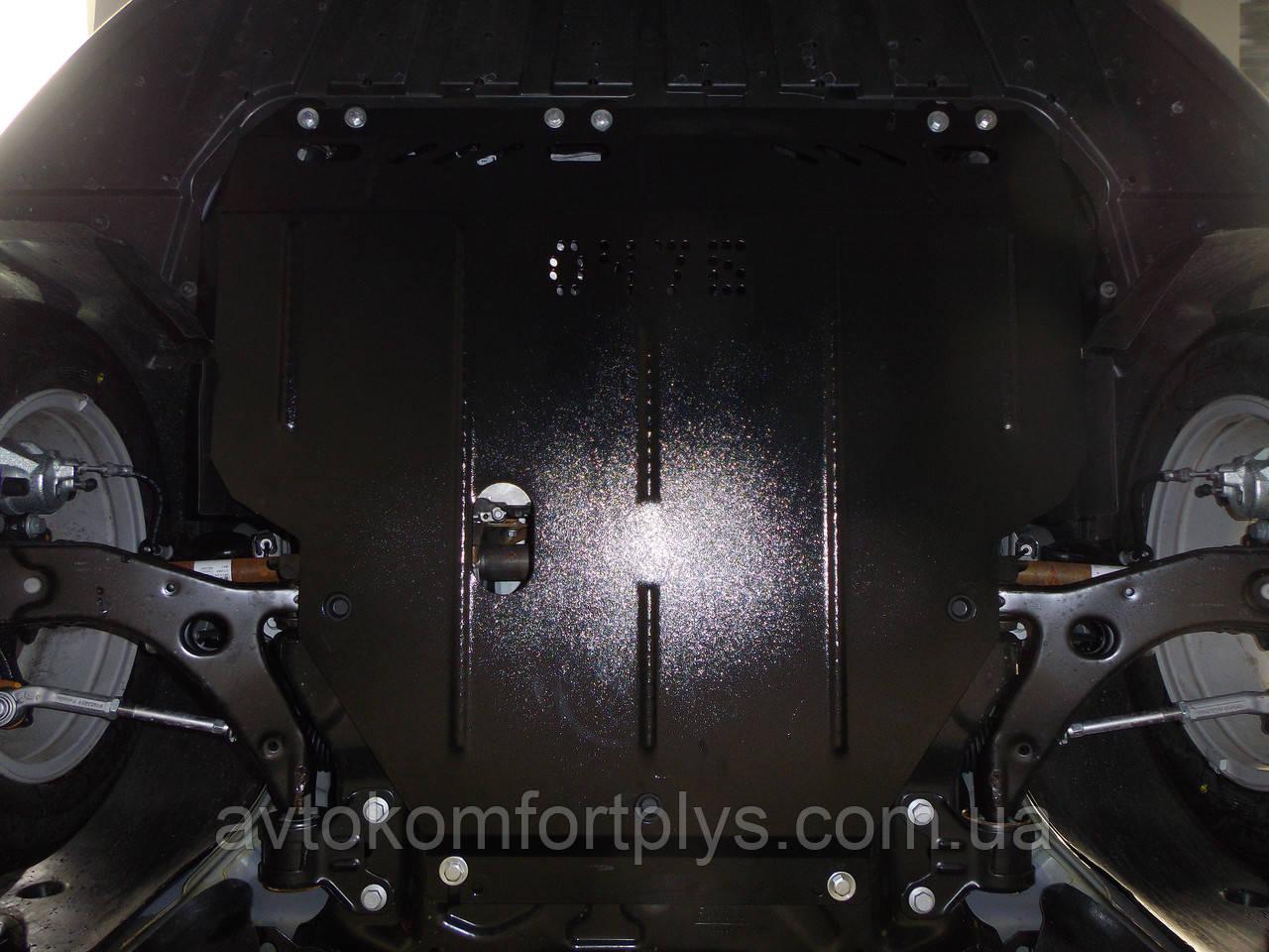 Металева (сталева) захист двигуна (картера) Ford Connect (2014-) (всі об'єми)