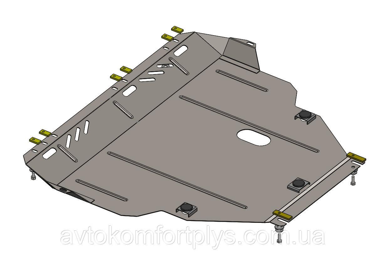 Металлическая (стальная) защита двигателя (картера) Ford Grand C-Max EcoBoost (2010-) (V-1,0)