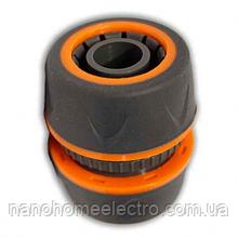 Соединение  для шланга 3/4 soft 5818Е резиновый
