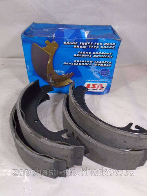 Тормозные колодки задние барабанные ВАЗ 2108-2110 LSA
