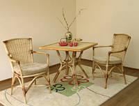 Как ухаживать за плетенной  мебелью из натурального ротанга