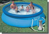Надувной бассейн intexs 28132( 56422)-(366x76см.)+насос-фильтр