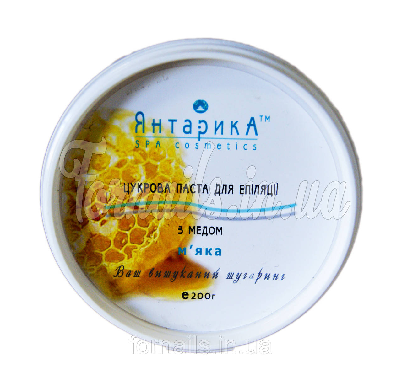 Паста для шугаринга с медом мягкая 200г Янтарика
