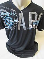 Мужские футболки с V – образным вырезом на лето
