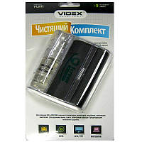 Чистящий спрей VIDEX  V-L2015 (20ml+микрофибра  для LCD/TFT и ПЛАЗМА экранов