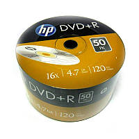 Диск HP  4.7Gb  -16x  (bulk 50)  DVD+R