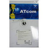 Кабель  для компьютерных  сетей AT-com FTP cat5e,алюминий-медь,экран.(за 1метр)