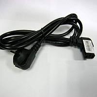 Кабель   сетевой с евровилкой 1.8м(PC-186A-VDE)вилка на 90градусов