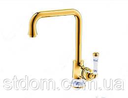 Смеситель для кухни, золото Venezia Emparador 5010102