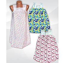 Ночная рубашка детская с кружевом Алина для девочки, хлопок, р.р.26-36