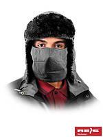 Шапка-ушанка утепленная с защитой для лица CZOPAPA-FACE B