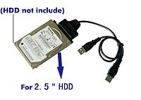 Переходник USB2.0 to SATA, IDE, 2.5