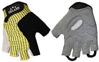 Перчатки для фитнеса ZEL ZG-6124 (PVC, PL, р-р S-L)