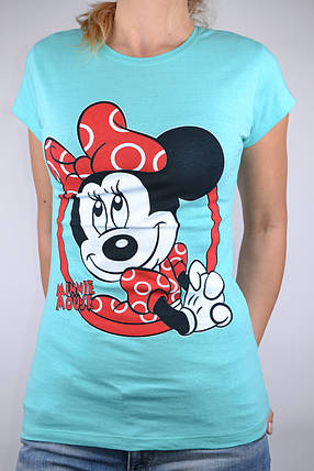 Футболка Minnie Mouse Бирюза (W864/23) | 4 шт., фото 2