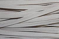 Шнур плоский 8мм (100м) бежевый , фото 1