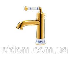 Смеситель для раковины, золото Venezia Emparador 5010104