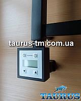 ЭлектроТЭН черный квадратный c маскировкой: экран +регулятор +таймер. Польша. Мощность: 120-1000Вт.