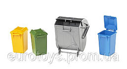 Набор мусорных баков Bruder (02607)