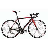 Велосипед 28'' PRIDE ROCKET CLARIS V-br рама - 58 см черно-красный 2016
