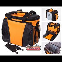 Автомобильная сумка-холодильник термоэлектрическая на 12 л./ DC 12V / 50W