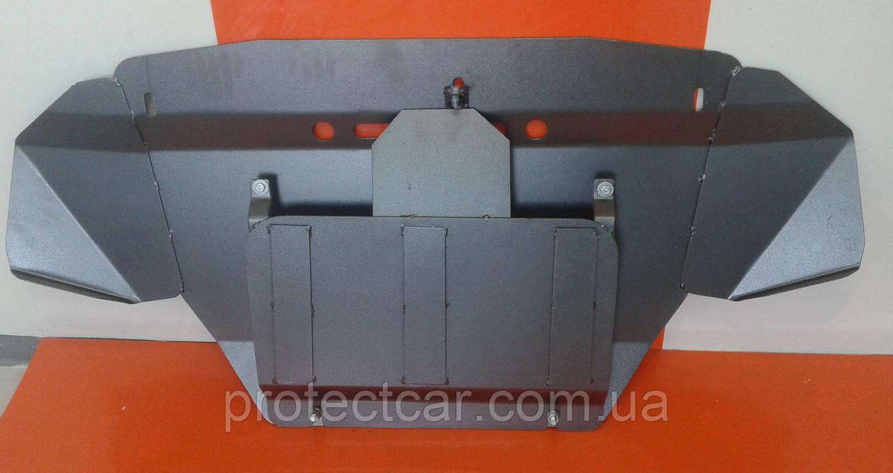 Защита КПП  Audi A6 C5