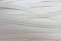 Шнур плоский 8мм (100м) белый