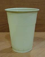 Стакан пластиковый зелёный 180мл