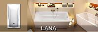 Акриловая ванна 140-150-160-170 Cersanit LANA, прямоугольная , фото 1
