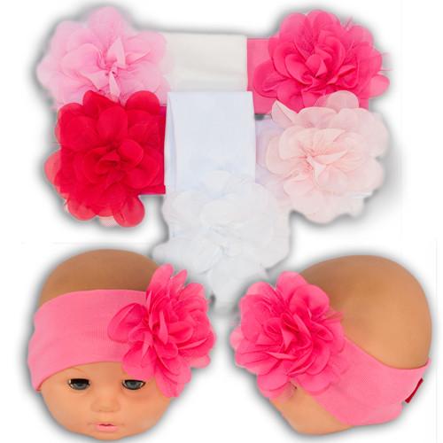 Трикотажная повязка на голову, для малышей
