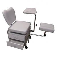 Кресло косметическое для педикюра, маникюра