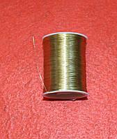 Нитки мулине люрекс 16052 золото