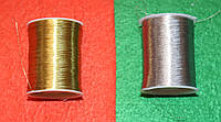 Нитки мулине люрекс 16053 серебро