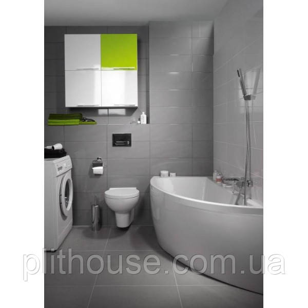 Акриловая ванна 140-150 Cersanit NANO, ассиметричная, фото 1