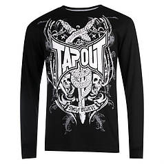 Кофта Tapout Long Sleeve T Shirt Mens