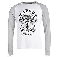 Кофта Tapout Raglan Long Sleeve T Shirt Mens