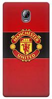 Чехол для Lenovo Vibe P1 (Manchester United)
