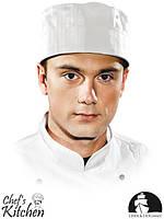 Короткий поварской колпак из серии Chef's Kitchen LH-SKULLER W