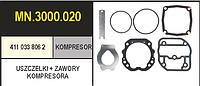 4110338062 Прокладки компрессора WABCO с клапанами
