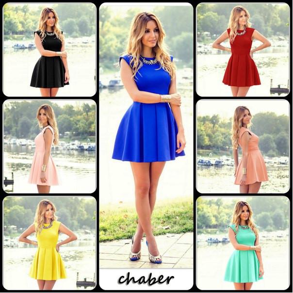 Купить расклешенное платье в Украине