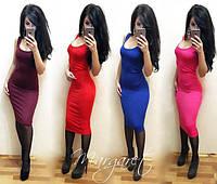 Летнее платье ниже колена, фото 1