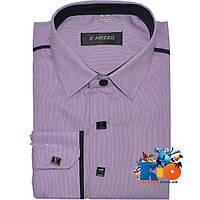 Детская рубашка с длинным рукавом арт.282А1-4 , для мальчиков (р-р 29-36)