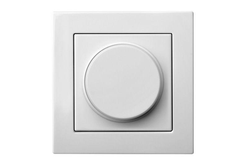 Светорегулятор (диммер) 3-100 W для LED-ламп, белый цвет, Epsilon