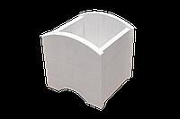 Цветник для горшечных растений арочный (белый)