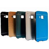 Бампер алюминиевый для HTC One M9 - Motomo Line Series (разные цвета)