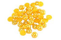 Полубусы (50 шт) 8мм Желтый