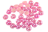 Полубусы (50 шт) 8мм Розовый